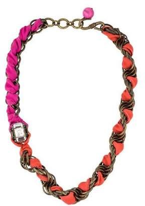 Lanvin Woven Necklace