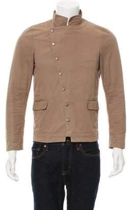 Robert Geller Lightweight Asymmetrical Jacket