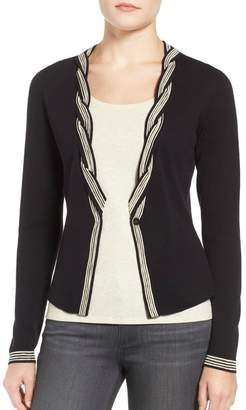 Nic + Zoe Twisted Tint Cardigan $138 thestylecure.com