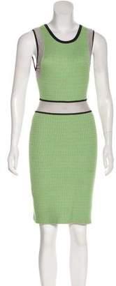 Yigal Azrouel Cut25 by Sleeveless Knit Dress
