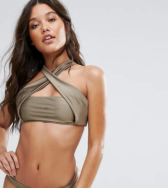 Co And And Cross Over Bikini Top