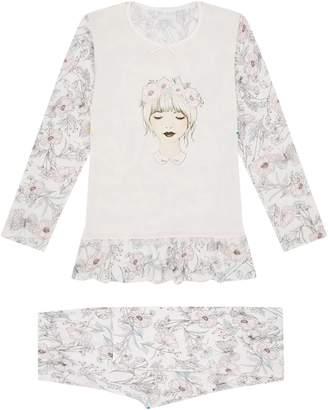 story. Loris Flower Girl Pyjama Set