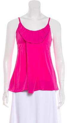 Marc by Marc Jacobs Sleeveless Pleated Top
