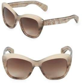 Oliver Peoples Emmy 55MM Butterfly Sunglasses
