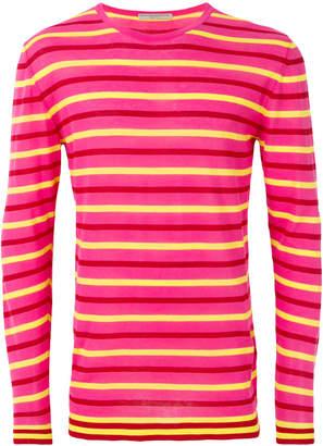 Ermanno Scervino striped pattern sweater