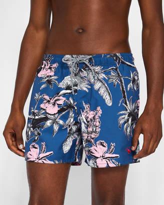 Ted Baker ELMS Parrot print swim shorts
