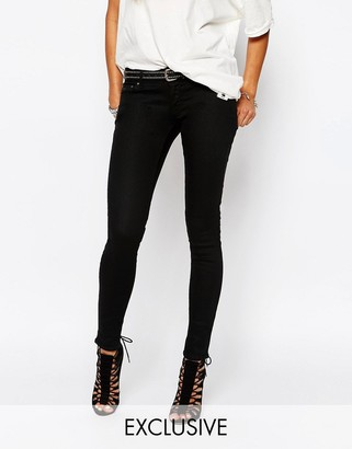 G-Star G Star Be Raw 3301 -A Low Super Skinny Jeans $106 thestylecure.com