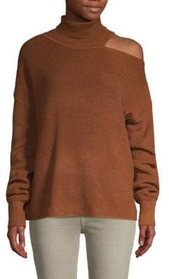 John & Jenn Claude Slouchy Knit Turtleneck Sweater