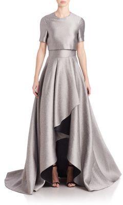 Jason Wu Draped Hi-Lo Gown $3,295 thestylecure.com