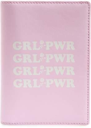 Rebecca Minkoff Girl Power Leather Passport Holder