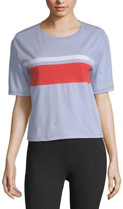 Flirtitude Unisex Crew Neck Short Sleeve T-Shirt Juniors