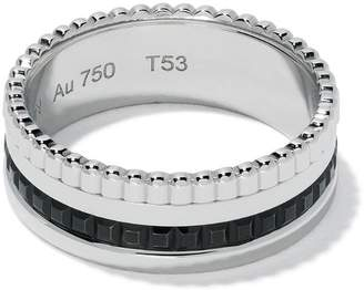 Boucheron 18kt white gold Quatre Black small ring