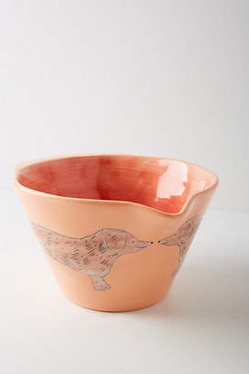 Gemma Orkin Painted Pup Mixing Bowl
