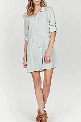 MUR Collar Shirt Dress