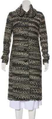 Thakoon Virgin Wool-Blend Long Coat
