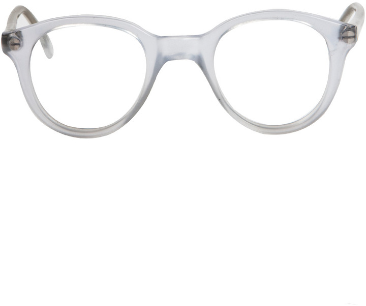 American Apparel Vintage Identity England Frosted Clear Eyeglasses