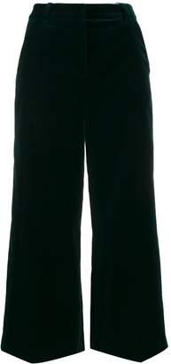 Aspesi cropped velvet trousers