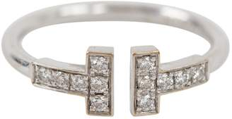 Tiffany & Co. T white gold ring