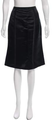 Behnaz Sarafpour Silk Knee-Length Skirt w/ Tags