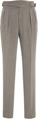 Ralph Lauren Pleated Crepe Pants