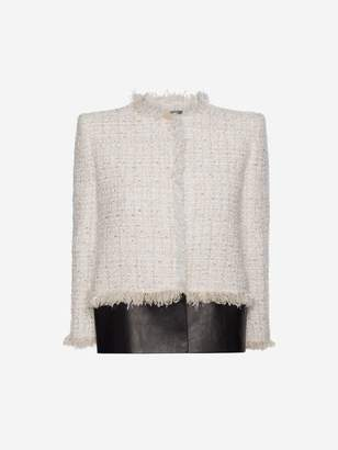 Alexander McQueen Soft Tweed Box Jacket