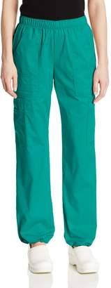 Cherokee Women's Tall Workwear Scrubs Core Stretch Pull-On Cargo Pant
