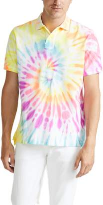 Polo Ralph Lauren Short Sleeve Tie-Dye Polo Shirt