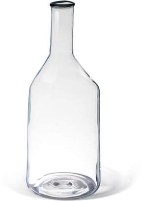 """Torri"" blown glass carafe"