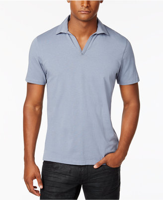 INC International Concepts Men's Polished Polo, Only at Macy's $49.50 thestylecure.com