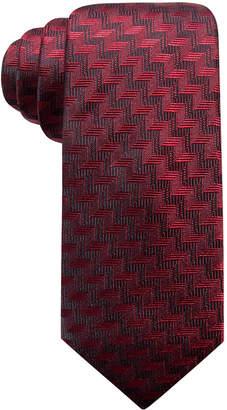 Alfani Men's Errol Slim Chevron Stripe Silk Tie