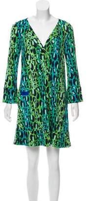 Diane von Furstenberg Gaby Silk Mini Dress