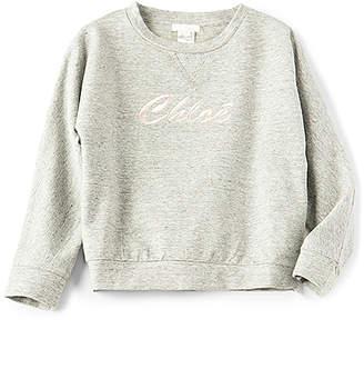 Chloé (クロエ) - Kids Chloe Logo Sweatshirt