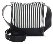 Loeffler Randall Textile Crossbody Bucket Bag