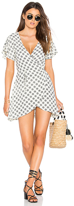 Cleobella Oxford Wrap Dress in Cream $119 thestylecure.com