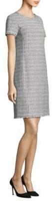 Max Mara Tweed Sheath Dress
