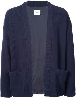 Ts(S) front pocket knitted cardigan