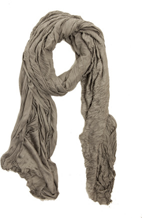 Yigal Azrouel Basic VJ Scarf in Sterling