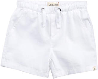 Me & Henry Boys' Twill Shorts, Size 2T-10