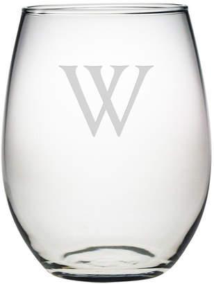 Susquehanna Glass Personalized Stemless Wine Glass