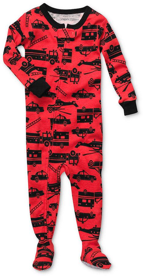 Carter's Baby Pajamas, Baby Boys Printed Coveralls