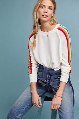 Moth Rainbow Striped Pullover