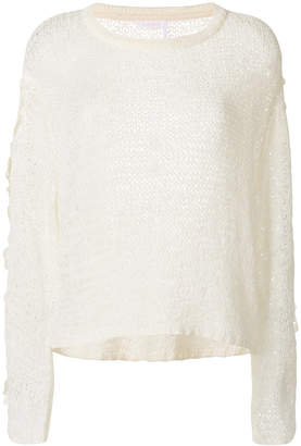 See by Chloe open weave pullover