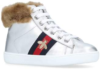 Gucci New Ace High Top Sneakers