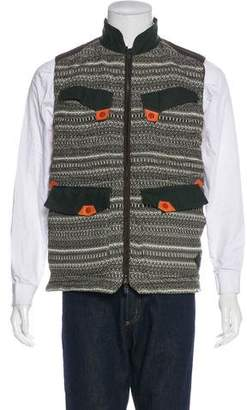 Moncler x White Mountaineering Down Embroidered Vest