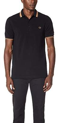 Fred Perry Men's Contrast Tipped Pique Shirt