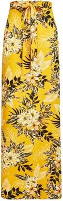 Dorothy Perkins Womens **Tall Tropical Print Maxi Skirt