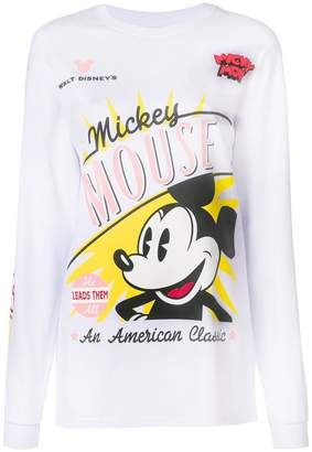 Gcds Mickey Mouse printed sweatshirt