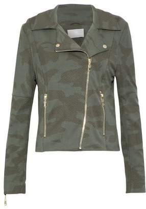 Tart Collections Gracia Printed Jersey Biker Jacket