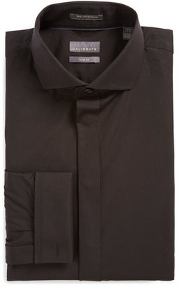 Men's Calibrate Trim Fit Solid Tuxedo Shirt $79.50 thestylecure.com