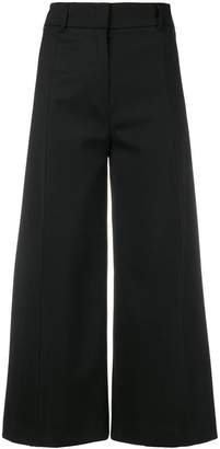 Twin-Set high waisted cropped trousers